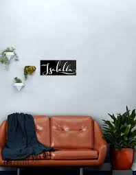Isabella Name Metal Print By Projectx23 Redbubble
