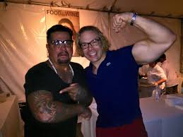 Chef Aaron Sanchez and I showing our... - Eric the Trainer | Facebook