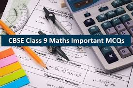 cbse class 9 maths mcqs with answers in