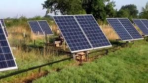 solar tracker 4kw array home made