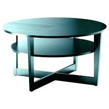 thin black metal side table white