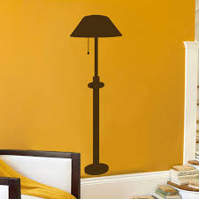 Faux Lamp Wall Decal Sticker Graphic