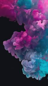 colorful smoke wallpaper iphone hd