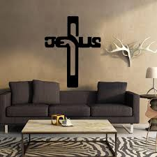 Jesus Cross Wall Decal Blxdev