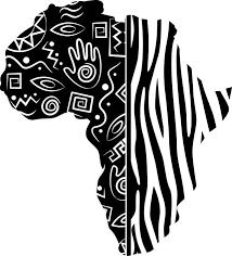 African Continent Wall Decal Tribal Style Map Decals Bedroom And Living Room Decor Stickers Wall Tattoo Africa