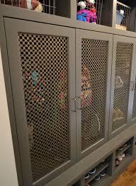 wire mesh cabinet door panels with