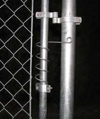 Gate Shut Gate Spring Closer Self Closing Adjustable Spring For Chainlink Gate Ebay Ranch Gates Chain Link Yard Gate