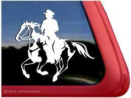 Car Decal Green Mountain Horse Tack
