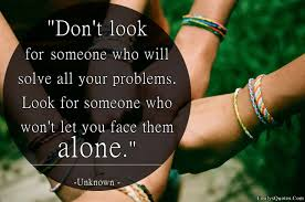 true friends won t let you face your problems alone guyanese