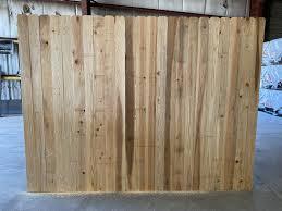 Japanese Cedar Fence Panels For Sale Okc Oklahoma Lumber Supply