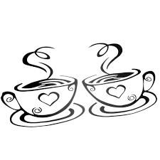 Tureclos Coffee Cups Cafe Tea Wall Stickers Art Vinyl Decal Kitchen Restaurant Pub Decor Walmart Com Walmart Com