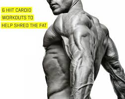 hiit cardio workouts to help shred