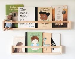 Kids Bookshelves Etsy
