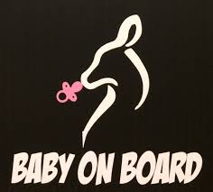 Baby On Board Buck Doe Baby Girl Decal Sticker W Pacifier Browning Shower Gender Ebay Girl Decals Buck And Doe Country Car Decals