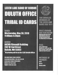 tribal ids duluth leech lake news