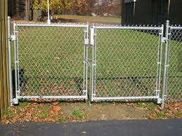 Chain Link Wire Mesh Fence Gate