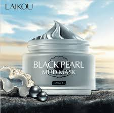 laikou black pearl whitening mud mask