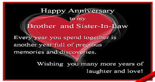 anniversary wishes for brother or