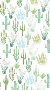 cute iphone background cactus phone