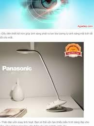 Đèn học Led chống cận Panasonic - 3 chế độ sáng, nút bấm cảm ứng tiện dụng  - Công nghệ mới nhập khẩu bởi Agiadep