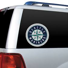 Seattle Mariners 12 X 12 Cutz Color Window Decal Buy At Khc Sports