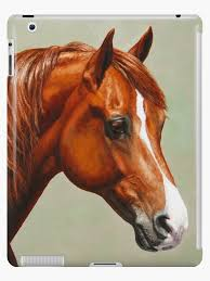 Chestnut Morgan Horse Ipad Case Skin By Csforest Redbubble