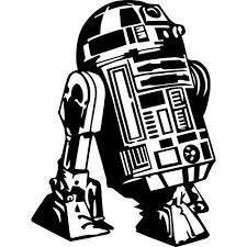 R2d2 Decal Sticker Star Wars R2d2 Decal Thriftysigns