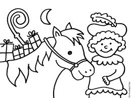 Sinterklaas Mozaiek Kleurplaten Tekenen En Kleure Sinterklaas