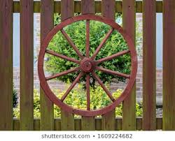 Wagon Wheel Fence Images Stock Photos Vectors Shutterstock