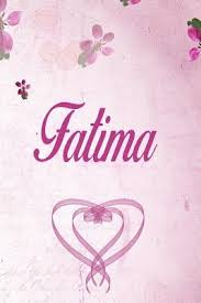 fatima personalized name notebook