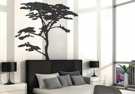 Vinyl Art Decal Realistic African Tree Wall Sticker Decals Etsy