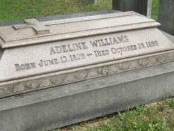 Adeline Williams (1829-1898) - Find A Grave Memorial