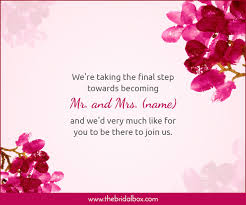 wedding invitation wording ideas you can totally use