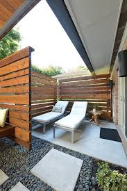 Modern Horizontal Privacy Screens Modern Patio Dallas By Southwest Fence Deck