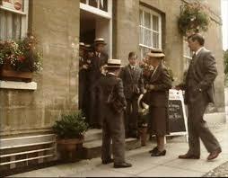 1987) 'Nemesis' with Joan Hickson as Miss Jane Marple, and Peter Tilbury as  Lionel Peel. Tearoom, Park St, W… | Miss marple, Agatha christie books,  Agatha christie