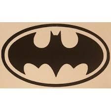 Oracal Classic Batman Logo Vinyl Sticker Decal Home Laptop Choose Size Color
