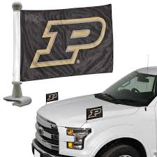 Bsi Collegiate Purdue Ambassador Car Flag Set Epic Sports