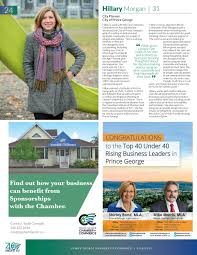 2018 Top 40 Under 40 by Prince George Chamber of Commerce - issuu