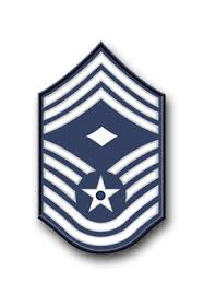 Air Force Chief Master Sergeant Vinyl Transfer Decal