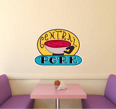 Central Perk 3 Wall Decal Friends Wall Sticker Removable Etsy