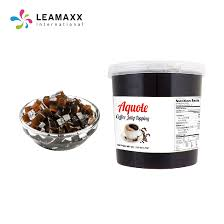 hot selling coffee jelly topping bubble milk tea supplies