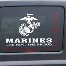 40 27cm United States Marine Corps Marines Usmc Few Proud Car Decal Sticker For Jeep Etc Car Decal Sticker Decal Stickercar Decal Aliexpress