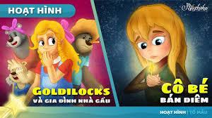 Goldilocks và gia đình nhà gấu câu chuyện cổ tích hoạt hình phim ...