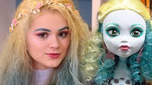 doll makeup challenge monster high
