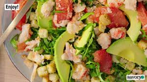 Lobster and Avocado Salad - Savory ...