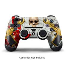 Ps4 Skins Playstation 4 Games Sony Ps4 Games Decals Custom Ps4 Controller Stickers Ps4 Remote Controller Skin Playstation 4 Controller Dualshock 4 Vinyl Decal Ghost Ops Walmart Com Walmart Com
