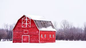 the amazing story behind red barns and