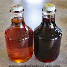 how to make maple syrup and maple syrup