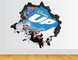 Q202w Cinema Ticket Film Movie Smashed Wall Decal 3d Art Stickers Vinyl Room