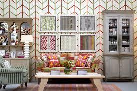 fabric wallpaper as art